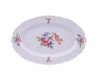 Бернадотт Полевой цветок  блюдо овальное 36см