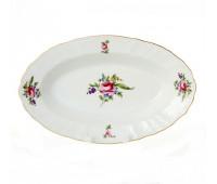 Бернадотт Полевой цветок  блюдо овальное 24см