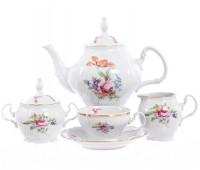 Бернадотт Полевой цветок сервиз чайный на 6 персон из 15-ти предметов