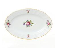 Бернадотт Полевой цветок  блюдо овальное 26см