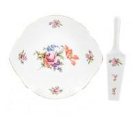 Бернадотт Полевой цветок  набор для торта 2 предмета