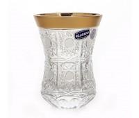 Хрусталь Снежинка 2 набор для чая Армуды 170мл 6 штук