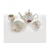 Бернадот Ивори Дипломат сервиз чайный на 6 персон 15 предметов