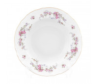 Бернадотт Дикая Роза набор тарелок 23см глубоких 6 штук