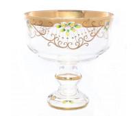 Лепка Золотая ваза для фруктов 26 см