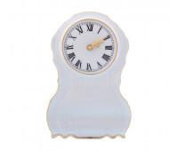 Бернадотт Белый часы каминные