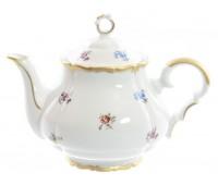 Корона Мейсенский цветочек чайник заварочный 700 мл