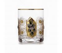 Glasspo Хрусталь с Золотом набор стаканов 330мл 6штук