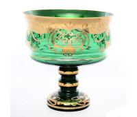 Зеленая Лепка ваза для фруктов 26см 39912