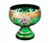 Зеленая лепка ваза для варенья 13см 40032