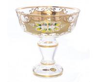 Лепка Золотая ваза для конфет 16см