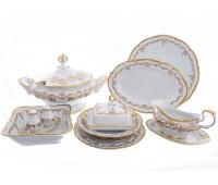 Корона Золотой узор сервиз столовый на 6 персон 26 предметов