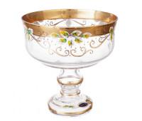 Лепка Золотая ваза для фруктов 20 см