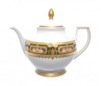 """Falken Porselan """"Донна Грин Голд"""" чайник заварочный 1,2 л"""