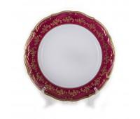 Барокко 202 Красный набор тарелок 25см 6 штук