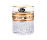 Золотые окошки набор низких стаканов 280мл 6 штук