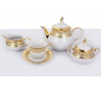 Констанция Крем сервиз чайный на 6 персон 15 предметов