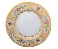 "Falken Porselan ""Виена Крем Голд"" набор тарелок 28см 6штук"