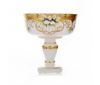 Белая Лепка 6444 ваза для конфет 17см