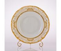 """Веймар """"Золотая Симфония 427"""" набор тарелок 24см глубоких из 6ти штук"""