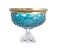 Арнштадт SunRose Gold ваза для фруктов  30см