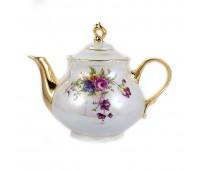 Констанция Цветы чайник заварочный 1,2л
