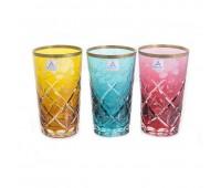 Арнштадт SunRose Colour набор стаканов 360мл 6 штук