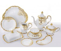 Веймар Лаке чайный сервиз на 12 персон 54 предмета