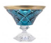 Арнштадт SunRose Gold ваза для конфет 18см
