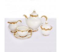 Cattin сервиз чайный на 6 персон 15 предметов