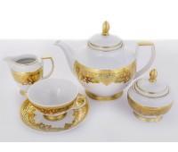 """Falken Porselan """"Favola Seladone"""" сервиз чайный на 6 персон 15 предметов"""