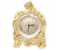 Золото Греции Кремовые часы настенные 42/58 см