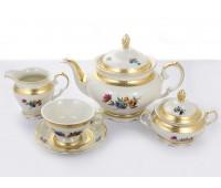 Эпиаг Аляска 2714 чайный сервиз на 6 персон 15 предметов