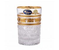 Золотые окошки набор высоких стаканов 350мл 6 штук