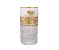 Золотые окошки набор высоких стаканов 380мл 6 штук