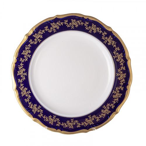 Барокко Кобальт блюдо круглое 32 см