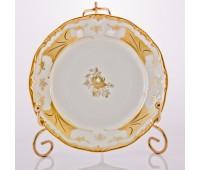 """Веймар """"Кленовый Лист Белый 408"""" набор тарелок 15см из 6ти штук десертных"""
