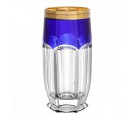 Сафари Синие набор стаканов 350мл из 6ти штук