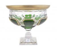 Арнштадт Антик Зеленый ваза для фруктов 24см