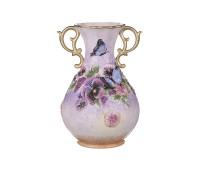 Бабочки ваза декоративная 28см