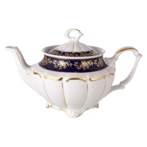 Барокко Кобальт чайник заварочный 1,1 л