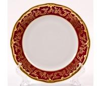 """Веймар """"Ювел Красный"""" набор тарелок 15см десертных 6штук"""
