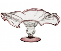 Кристал Нежная ваза для фруктов 36х36см, высота 19см