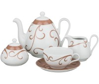 MZ Виола чайный сервиз на 6 персон 15 предметов