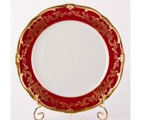 """Веймар """"Ювел Красный"""" набор тарелок 26см подстановочных 6штук"""