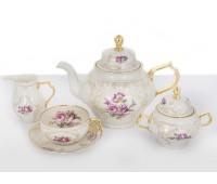 """Rosenthal Versace """"Дипломат"""" сервиз чайный на 6 персон 21 предмет"""