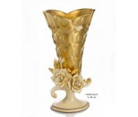 Cevik Group Золото Кремовые Цветы ваза для цветов 46см