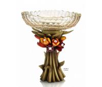 Cevik Group Тюльпаны ваза для фруктов 42см