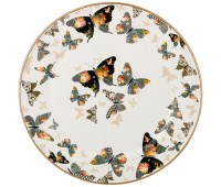 Agness Butterfly блюдо круглое 30 см