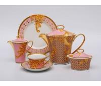 """Rosenthal Versace """"Бизант"""" сервиз чайный на 6 персон из 21 предметов"""